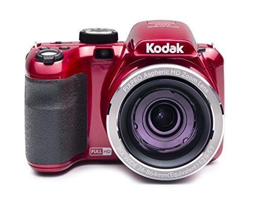 """Kodak 16 Astro Zoom AZ362 with 3"""" LCD, Red (AZ362-RD)"""
