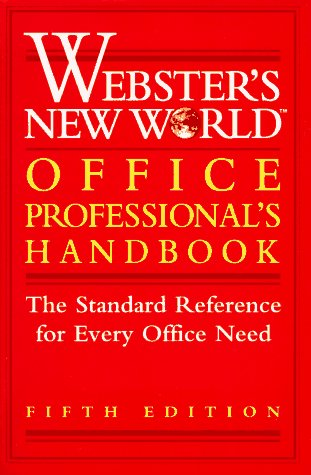 Price comparison product image Webster's New World Office Professional's Handbook (Webster's New World Office Professional's Desk Reference)