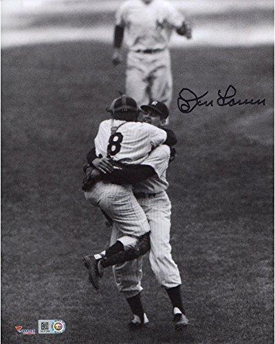 Don Larsen New York Yankees Autographed 8