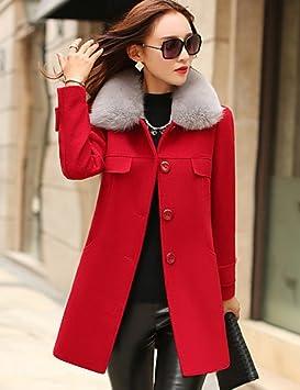 Manteau femme couleur rouge