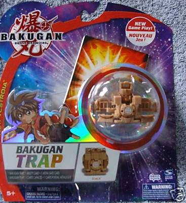 Bakugan Trap Zoack (Subterra), Brown
