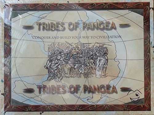 Tribes of Pangea Board Game: Conquer and Build Your Way to Civilization by MILLEN ENTERTAINMENT INDUSTRIES: Amazon.es: Juguetes y juegos