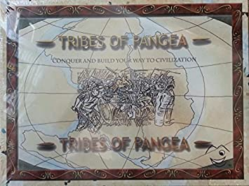 Tribes of Pangea Board Game: Conquer and Build Your Way to ...