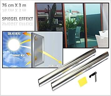 TTMOW Film de fen/être autocollant miroir Film de protection solaire /écran de confidentialit/é autocollant verre teint/é Isolation thermique 99 /% Protection UV jetable Refl/ète la lumi/ère du soleil