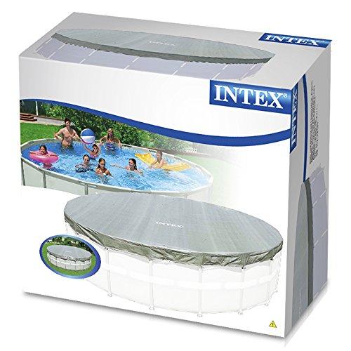 intex 57900 accessoires piscines b che de protection deluxe pour piscine tubulaire ou. Black Bedroom Furniture Sets. Home Design Ideas