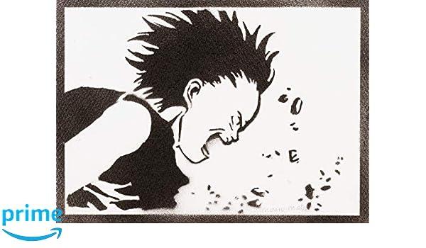 Póster Tetsuo Shima Akira Grafiti Hecho A Mano - Handmade ...