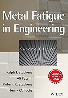 metal fatigue in engineering ali fatemi 9780471510598 amazon com rh amazon com Goodman Fatigue Equation Goodman Fatigue Equation