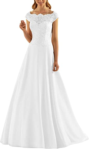 SongSurpriseMall Robe de mariée Robe de