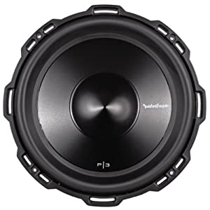 "Brand New Rockford Fosgate Punch P3D4-12 12"" 1200 Watt Peak / 600 Watt RMS Dual 4 Ohm Car Subwoofer with Nickel Plated Push Terminals"
