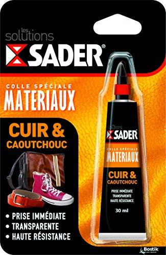 Sader Pour Tube caoutchouc Cuir 30 Ml Colle RqwCRS
