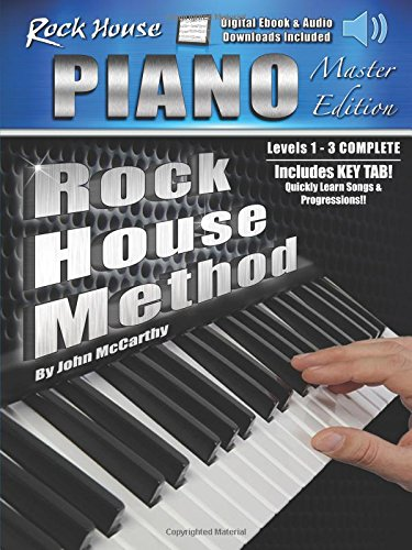 The Rock House Piano Method - Master