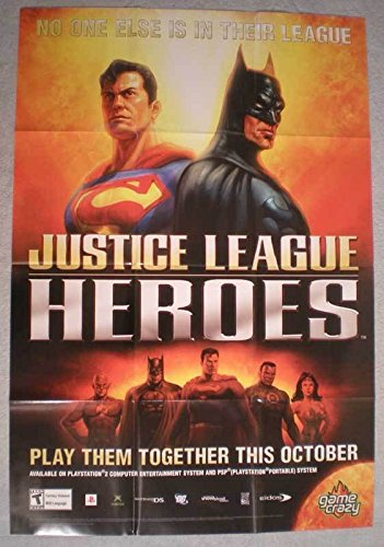 JUSTICE LEAGUE HEROES Promo poster, 25