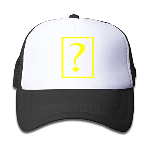 9eacb505fdf BKDMHHH Question Mark Unisex Baby Leisura Baseball Hats UV Protection  Adjustable Trucker Caps Black