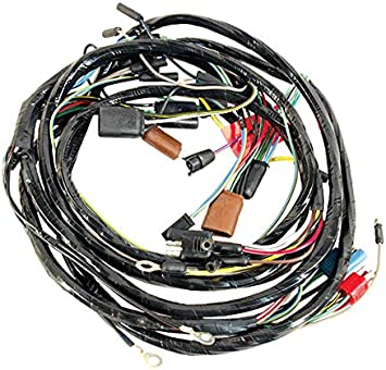 Amazon.com: 1967 Mustang Headlight Harness From Firewall - w/Fog Lights(GT)  & Tachometer: AutomotiveAmazon.com
