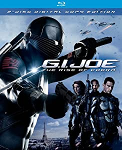 Cover Image for 'G.I. Joe: The Rise of Cobra (Two-Disc Edition + Digital Copy)'