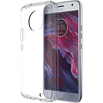 buy online a66ce b64b9 Skmy Moto X4 Case, Moto X 2017 Case, Soft TPU Case Crystal Transparent Slim  Anti Slip Case Back Protector Case Cover for Motorola Moto X (2017) ...