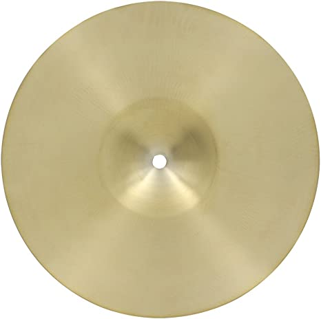 8 Inch Brass Alloy Drum Fast Crash Cymbal Percussion Instrument Accessory Golden