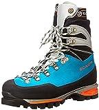 Scarpa Women's Mont Blanc Pro GTX Mountaineering Boots Turquoise 42 & Etip Lite Gripper Glove Bundle