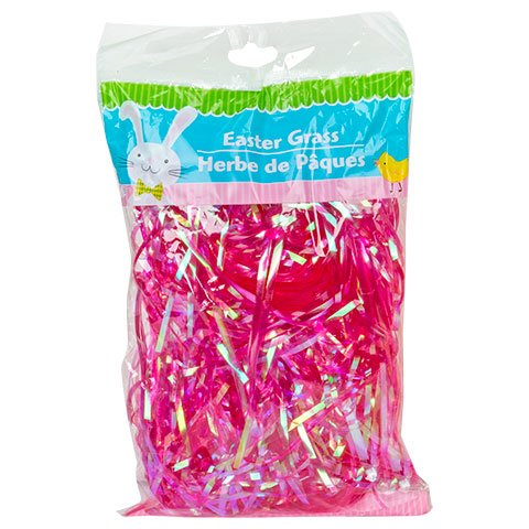 Iridescent Easter Grass, 1.75-oz. Bag (Pink)