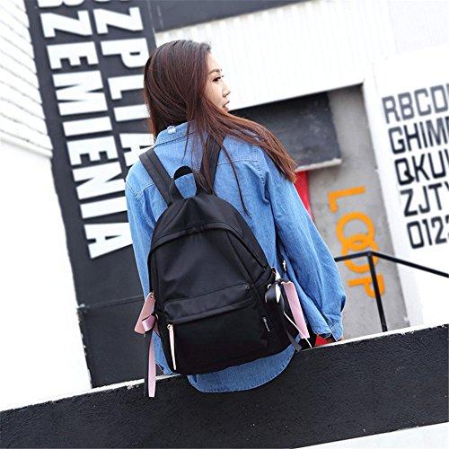 tromba rosa 31 ragazze Zaino per 14 da 34 viaggio cm medio nero O4qZwX