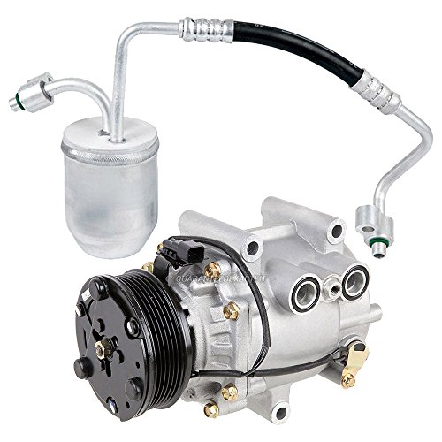 AC Compressor w/A/C Drier For Chevrolet Equinox 2005 - BuyAutoParts 60-86432R2 NEW ()
