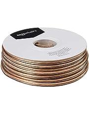 AmazonBasics, Cable para altavoces , Cobre, 30.5 mts