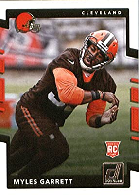 2017 Donruss #356 Myles Garrett Cleveland Browns Rookie Football Card
