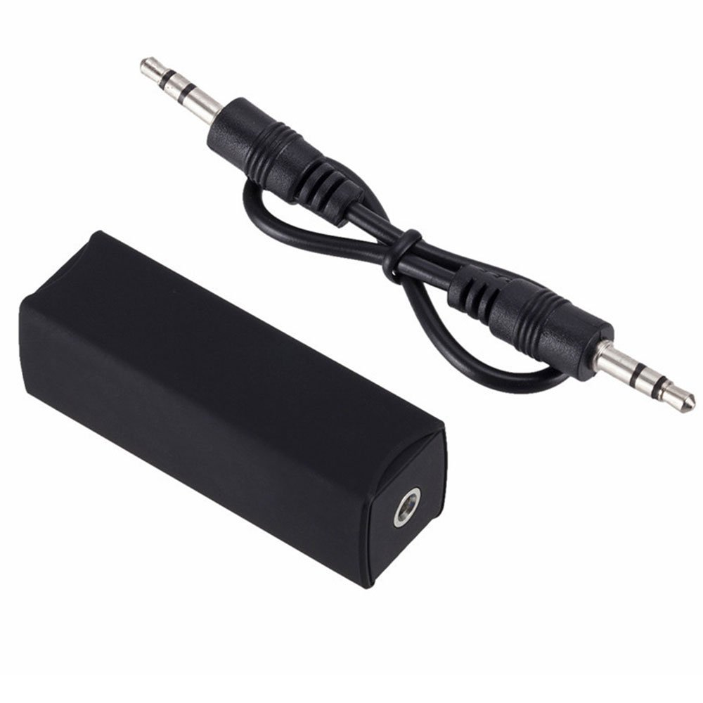 Efanr Ground Loop Noise Isolator Anti-Interference Noise Device for Car Stereo Systems and Home Audio Systems with 3.5mm Audio Cable