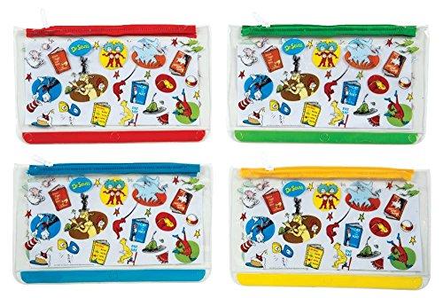 Dr Seuss Pen and Pencil Pouches, 12-Pack (70005)