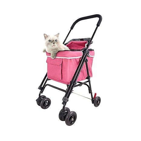NYJ Perro Pram | Perro de Animal doméstico Gato Animal Cochecito | Dog Buggy para Viajar ...