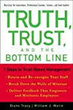 Truth, Trust, and the Bottom Line, Diane Tracy and William J. Morin, 079314163X