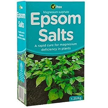 Vitax Ltd Epsom sales – 1,25 kg listo para usar – planta piensos alimentos