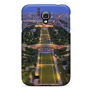 Awesome Beautiful Panarama Of Paris Flip Case With Fashion Design For Galaxy S4