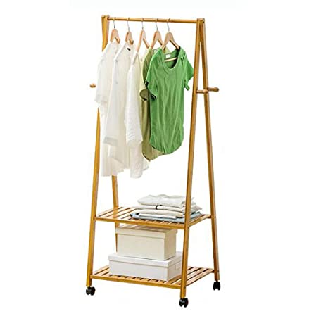 Amazon.com: Mei Xu Wooden Coat Rack,Wood Rack, Clothes ...