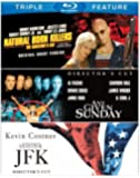 Natural Born Killers / Any Given Sunday / JFK (Triple Feature) [Blu-ray] by Warner Home Video