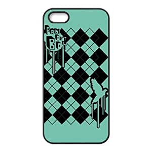 Fall Out Boy Pattern Design Solid Hard Customized Cover Case for IPhone 4 4s-linda417