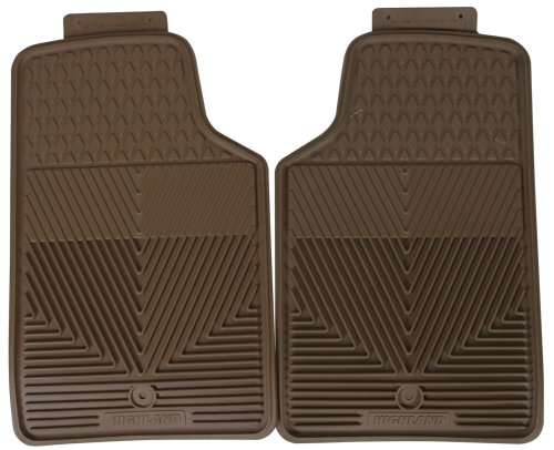 Highland 4402600 All-Weather Tan Front Seat Floor Mat by Highland