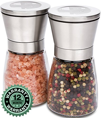 Salt and Pepper Grinder / Shaker Set By