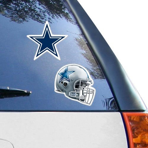 Dallas Cowboys 2-Pack 4'' x 4'' Die-Cut Decals by WinCraft