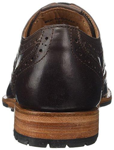 Ii Uomo Buckingham Scarpe Brown dark Brouge Marrone Chatham Stringate 002 aHqOwWwg