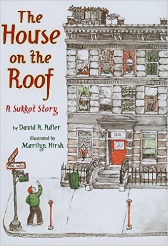 The house on the roof a sukkot story david a adler marilyn the house on the roof a sukkot story david a adler marilyn hirsh 9780823422326 amazon books fandeluxe Document
