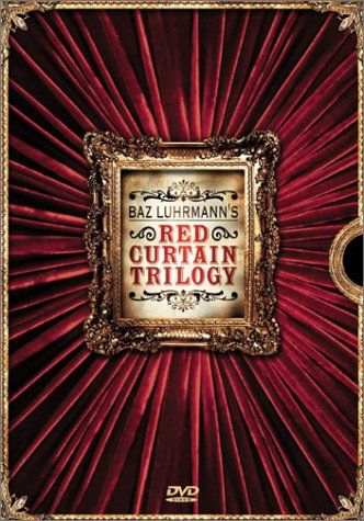 Baz Luhrmann's Red Curtain Trilogy (Strictly Ballroom / Romeo + Juliet / Moulin Rouge) by KIDMAN,NICOLE