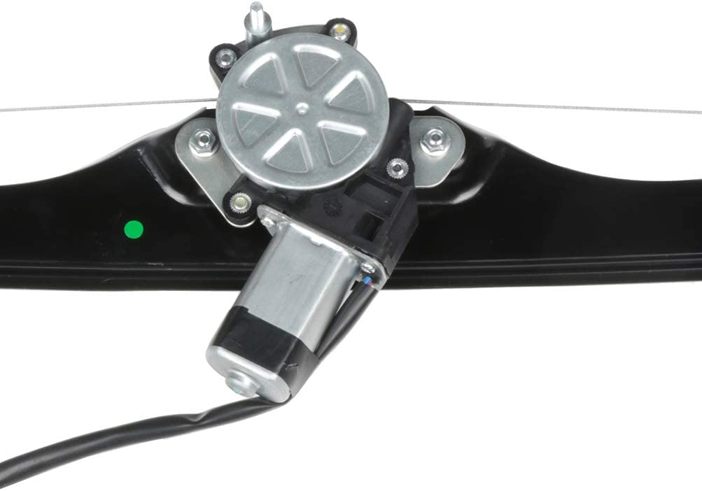 Power Window Regulator Rear Right Passenger Side with Motor fits for 2008-13 Buick Enclave 2009-13 Chevy Traverse 2007-13 GMC Acadia 2007-10 Saturn Outlook 20785729,25789075,25854521,25857954,748-904