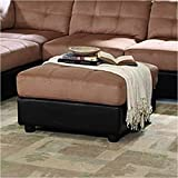 Coaster Home Furnishings 551003 Casual Ottoman, Brown Review