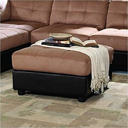 Coaster Home Furnishings 551003 Casual Ottoman, Brown