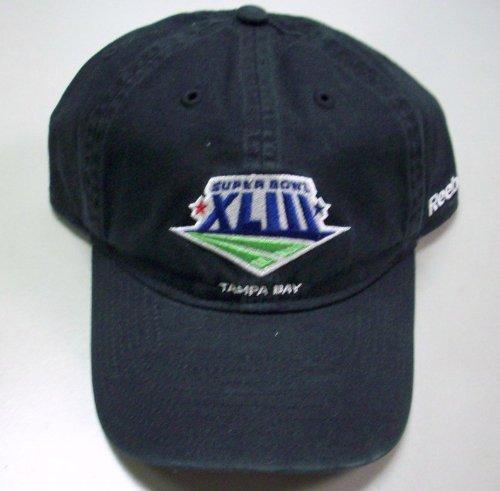 教育プレゼント贈り物Super Bowl XLIII Slouch Relaxed Strap Back Hat