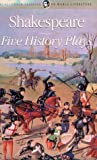 Five History Plays, William Shakespeare, 1840221011