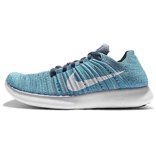 hyper Corsa Fog RN blue Nike Ocean Wmns White Scarpe Glow Flyknit Free Jade da Donna SYzzqO1