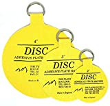 Flatirons Disc - Invisible English Disc - Adhesive Plate Hanger Set-|2''| 3''|4''|- Variety Pack- 10 of Each Size- (30 Pack)