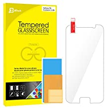 S6 Screen Protector, JETech Premium Tempered Glass Screen Protector Film for Samsung Galaxy S6 - 0855